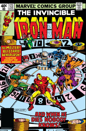 Iron Man Vol 1 123