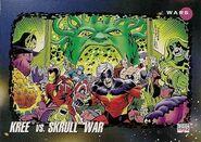 Kree vs. Skrull War (Earth-616) from Marvel Universe Cards Series III 0001