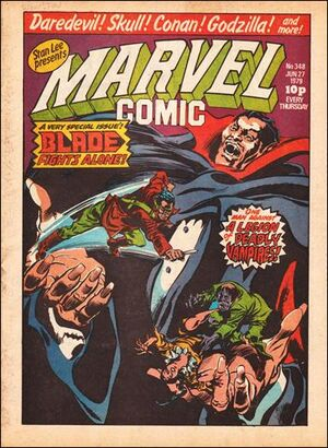 Marvel Comic Vol 1 348