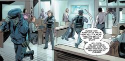 New York City Police Department (Earth-TRN728) from Vault of Spiders Vol 1 2