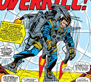 Nick Fury in a SHIELD rocket pack from Strange Tales Vol 1 151
