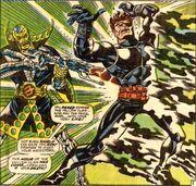 Nick Fury seemingly slain by Yellow Claw in Strange Tales Vol 1 164
