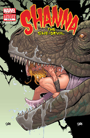Shanna the She-Devil Vol 2 3
