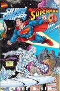 Silver Surfer Superman Vol 1 1 Front
