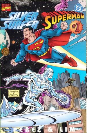 Silver Surfer Superman Vol 1 1 Front