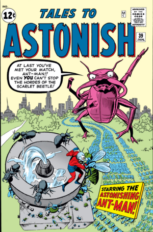 Tales to Astonish Vol 1 39