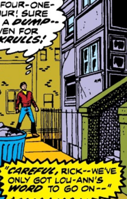 West 44th Street from Captain Marvel Vol 1 26 001