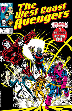 West Coast Avengers Vol 2 1