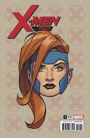 X-Men Red Vol 1 1 Headshot Variant