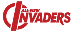 All-New Invaders (2014) logo
