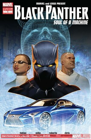 Black Panther Soul of a Machine Vol 1 5