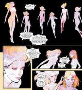 Emma Frost (Earth-616) and the Stepford Cuckoos (Earth-616) from Marauders Vol 1 2 001