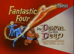Fantastic Four (1967 animated series) Season 1 12 Screenshot