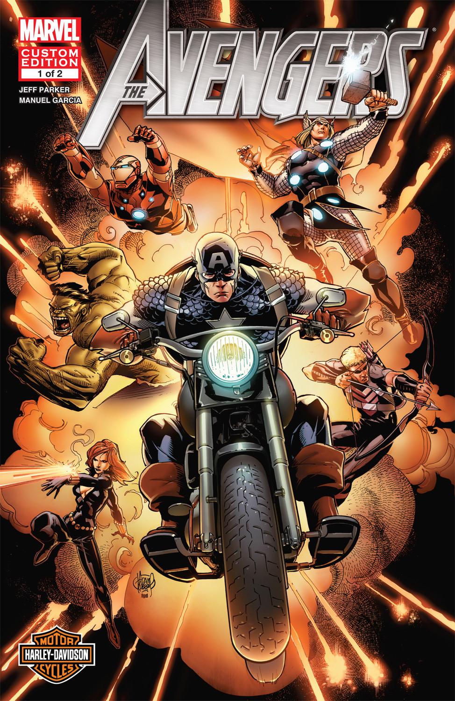Harley Davidson Avengers Vol 1 1