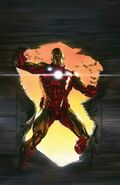 Invincible Iron Man Vol 1 600 Ross Virgin Variant