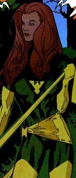 Jean Grey (Earth-7642) and Phoenix Force (Earth-7642) from WildC.A.T.s X-Men Vol 1 The Modern Age 001