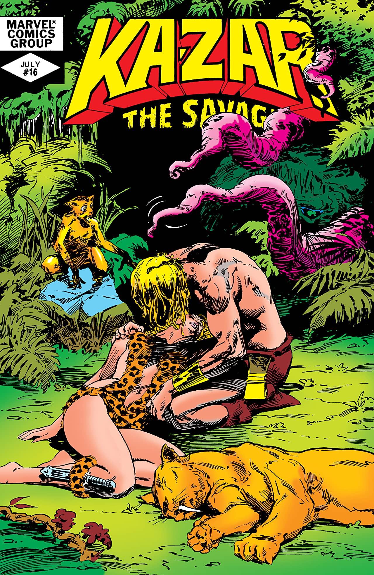 Ka-Zar the Savage Vol 1 16