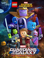 LEGO Marvel Super Heroes - Guardians of the Galaxy The Thanos Threat poster 001