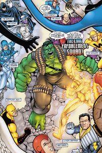 Law Enforcement Squad (Earth-22519) - Fantastic Four Annual Vol 1 2001