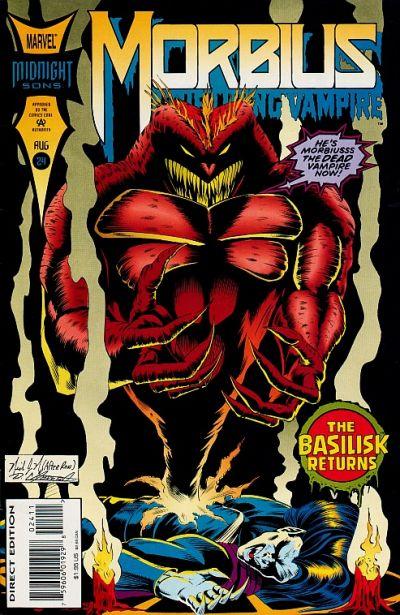 Morbius The Living Vampire Vol 1 24