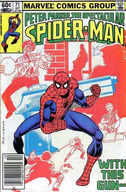 Peter Parker, The Spectacular Spider-Man Vol 1 71