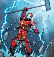 Stark Odinson (Warp World) (Earth-616) from Infinity Wars Iron Hammer Vol 1 1 001