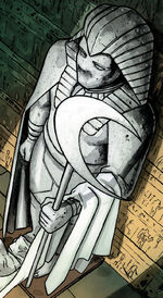 Statue of Khonshu from Moon Knight Vol 1 188 001