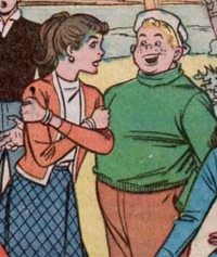 Tom Hale (Earth-616) and Nancy Brown (Earth-616) from Patsy Walker Vol 1 88 001