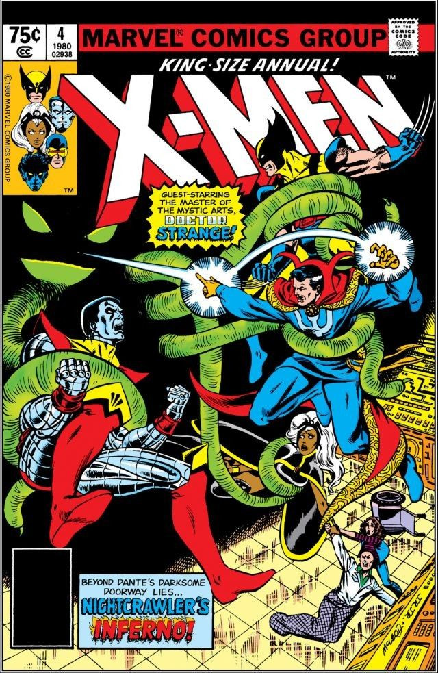 uncanny xmen annual vol 1 1980 marvel database fandom