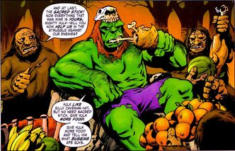 Bruce Banner (Earth-616) from Marvel Monsters Devil Dinosaur Vol 1 1 0001