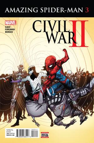 Civil War II Amazing Spider-Man Vol 1 3