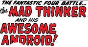 Fantastic Four Vol 1 15 Title