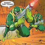 Hydra (Earth-50810) in Marvel MegaMorphs Spider-Man Vol 1 1 001