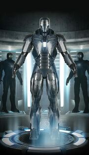 Iron Man Armor MK XL (Earth-199999) 001