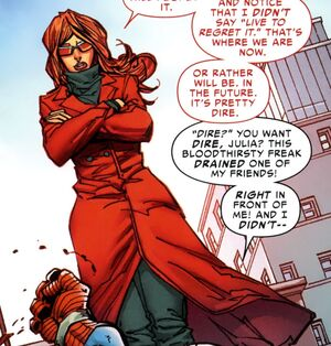 Julia Carpenter (Earth-616) from Amazing Spider-Man Vol 1 690 0001