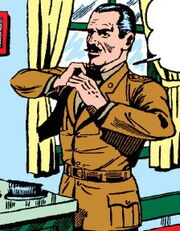 Major Collins (Earth-616) from All Winners Comics Vol 1 3 0001