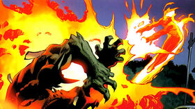 Norman Osborn (Earth-1610) and Jonathan Storm (Earth-1610) from Ultimate Spider-Man Vol 1 158 001