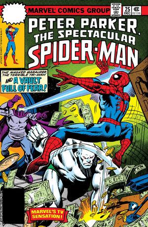 Peter Parker, The Spectacular Spider-Man Vol 1 25