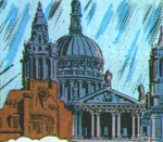 St. Paul's Cathedral from Captain Britain Vol 1 19 001