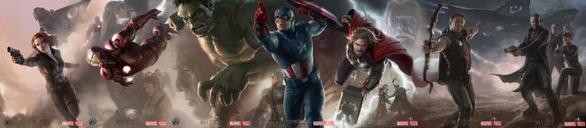 The Avengers Art 2012 Movie