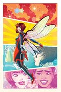 Unstoppable Wasp Vol 1 3 Ganucheau Variant Textless