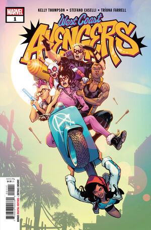 West Coast Avengers Vol 3 1
