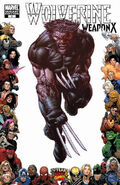 Wolverine Weapon X Vol 1 4 Variant Frame
