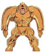 Ajax (Pantheon) (Earth-616) from Official Handbook of the Marvel Universe Master Edition Vol 1 36 0001