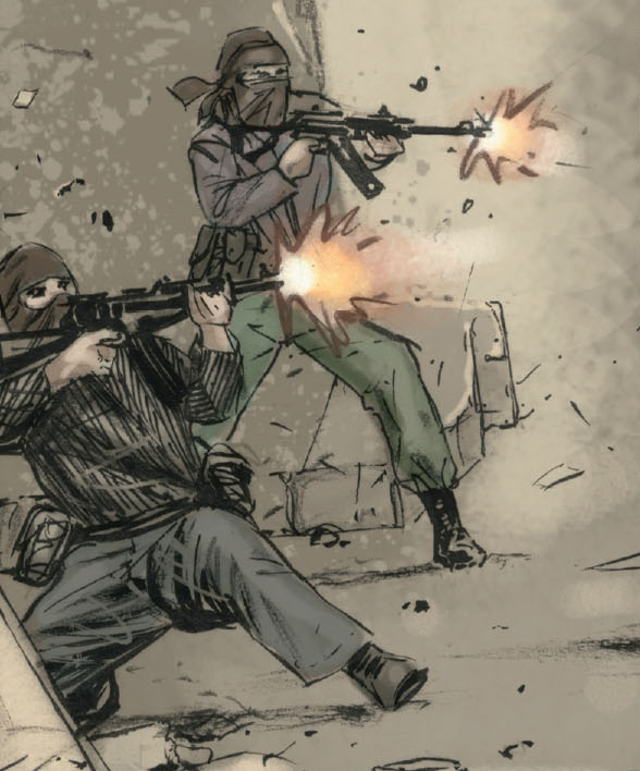 Al-Qaeda (Earth-7116) from Captain America The Chosen Vol 1 1 001