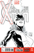 All-New X-Men Vol 1 1 Quesada Sketch