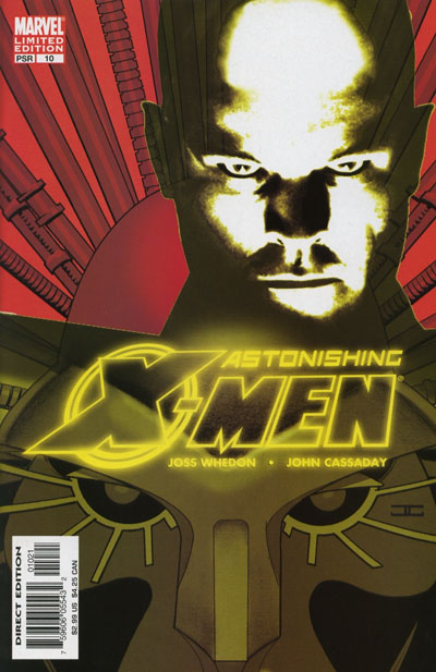 Astonishing X-Men Vol 3 10 Variant Xavier Danger