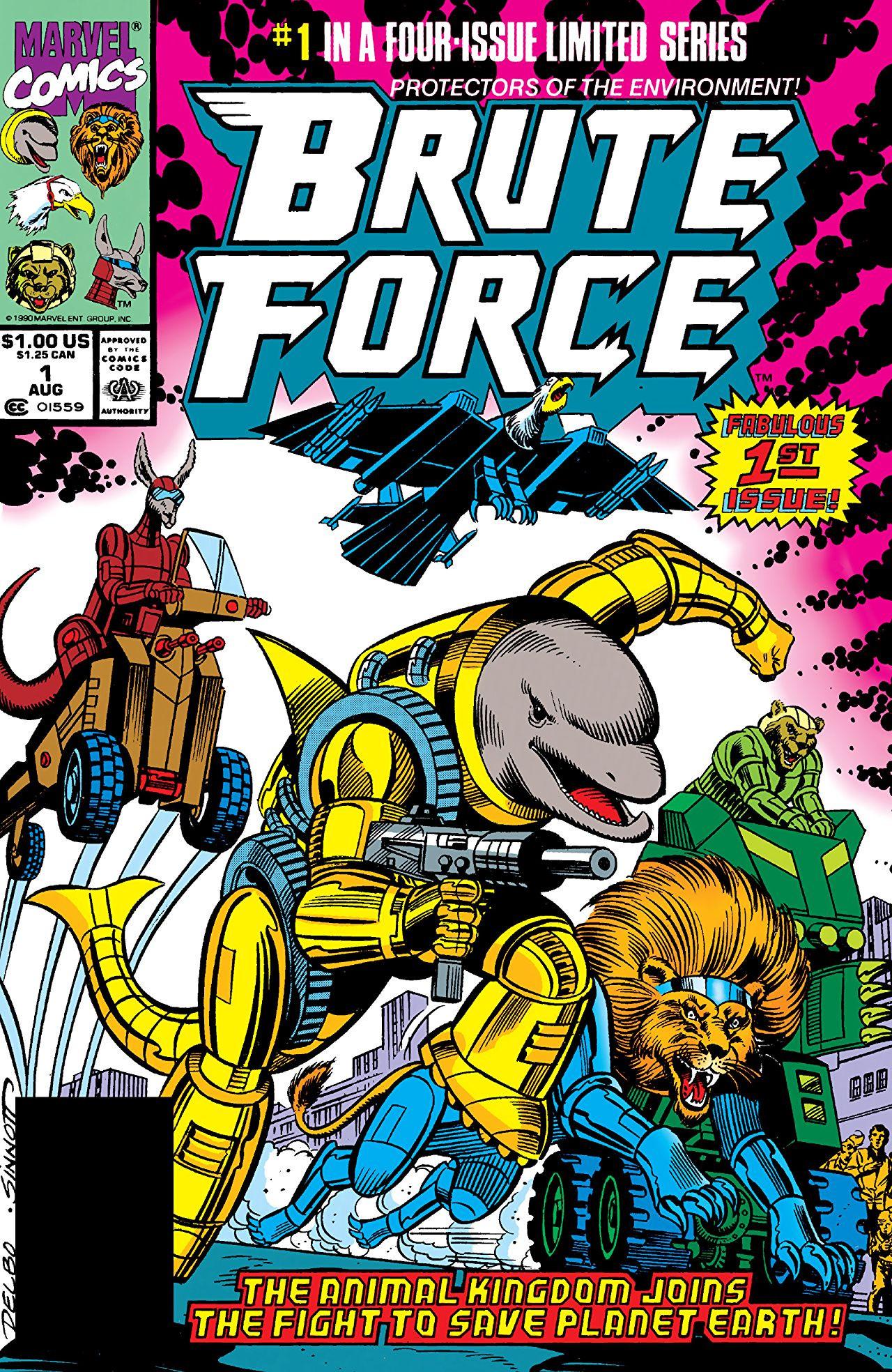 Brute Force (Animals) (Earth-616) | Marvel Database ...