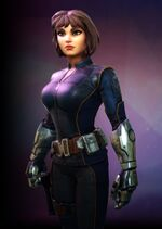 Daisy Johnson (Earth-TRN670) from Marvel Strike Force 001