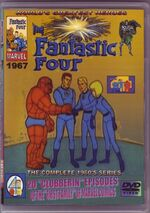 Fantastic Four (1967 animated series) Season 1 Home Video Cover 0001